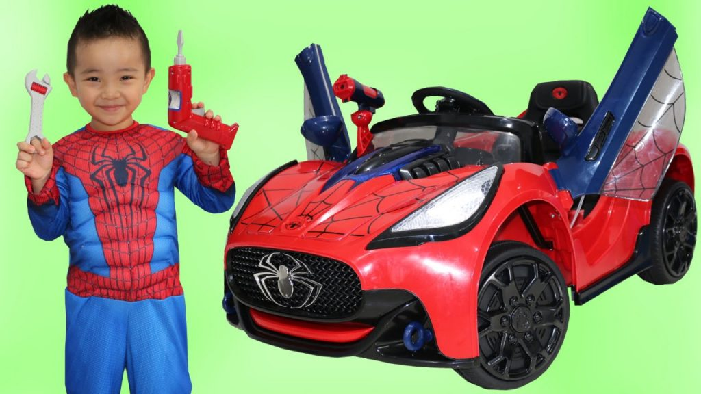 El Coche De Spiderman Spider Man