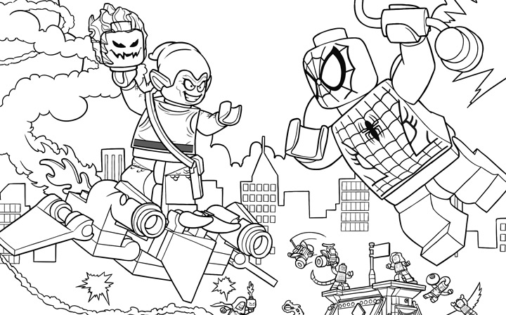 Spiderman colorear 29 spider man for Infinity coloring pages