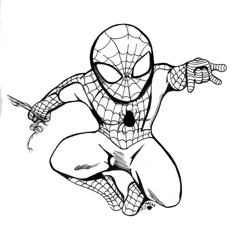 Spiderman-colorear-4