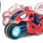 Moto de Spiderman