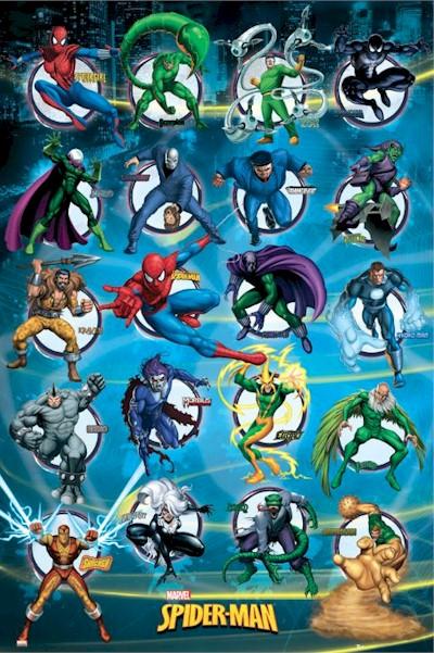 Personajes de Spiderman
